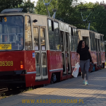 Prawie zabytkowy tramwaj w Gdańsku
